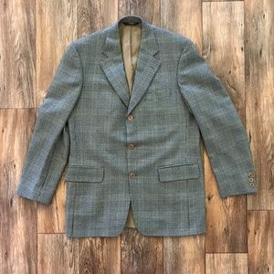 Other - Men Blazer Sport Coat Jacket 100% Wool 3 Button